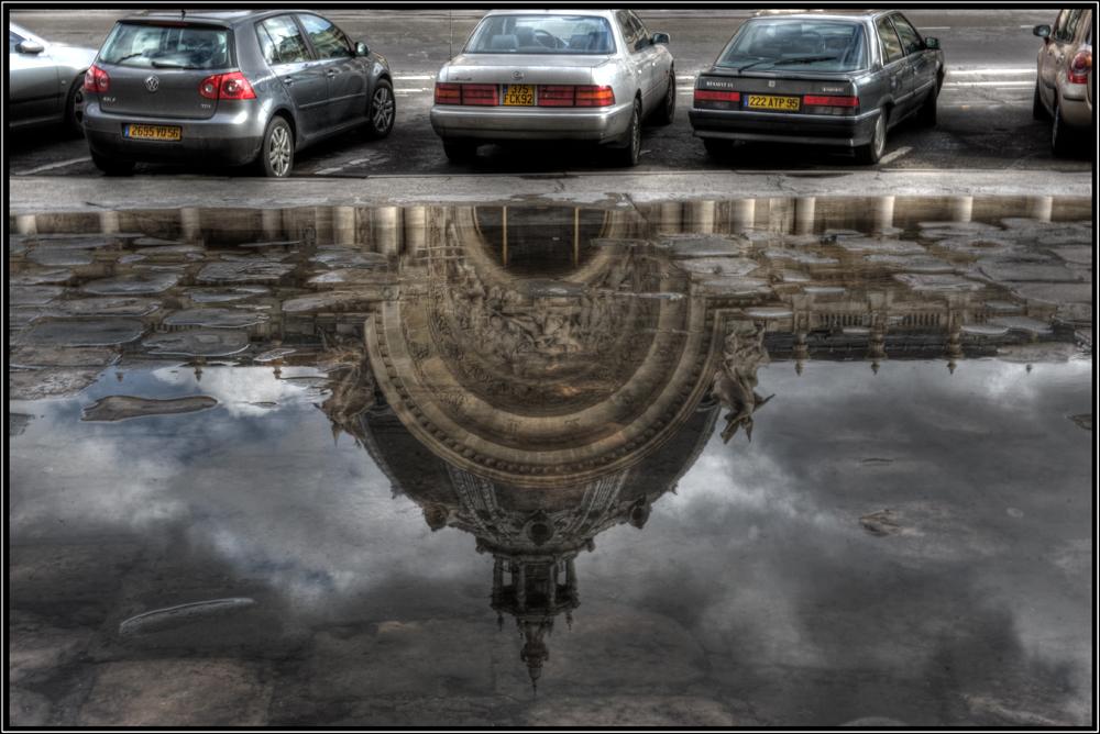 Reflets de la pluie à Paris - Rilessi di pioggia