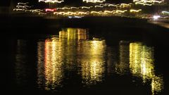 ..Reflets du soir  au Tréport..