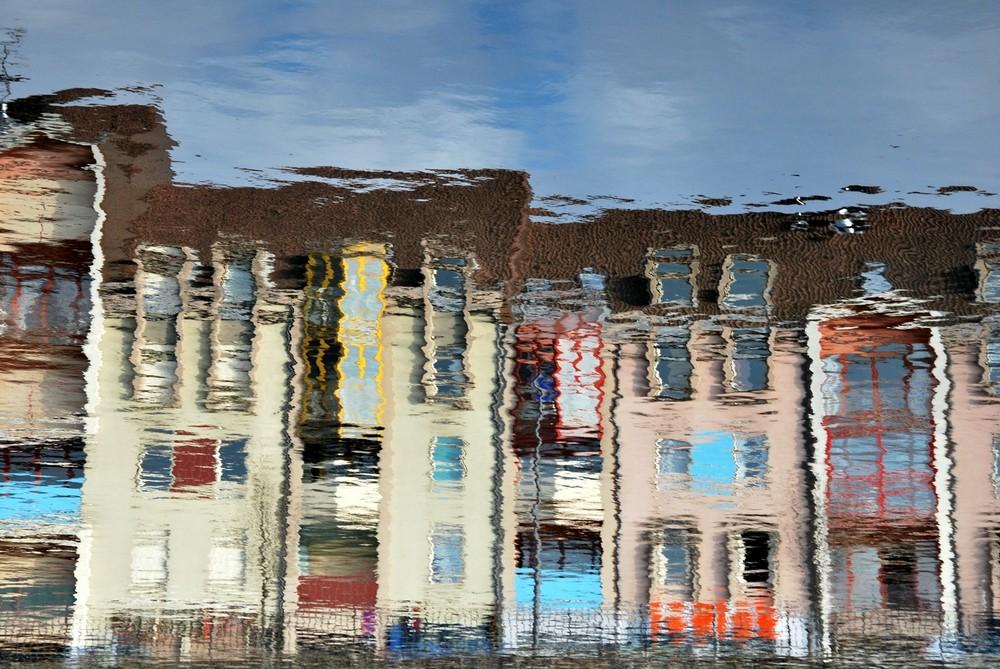 Reflets sur la Moselle