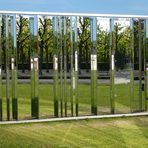 """""""Reflexionen"""" im Schloßgarten von Karlsruhe"""
