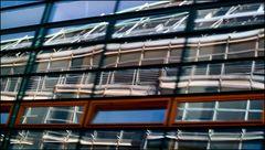 Reflexionen in Hamburg