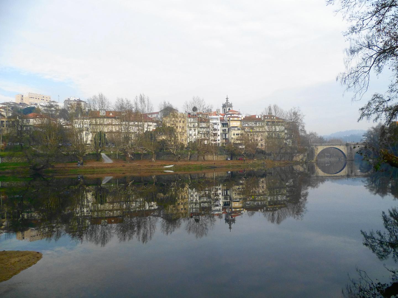 Reflexos do Rio Tâmega