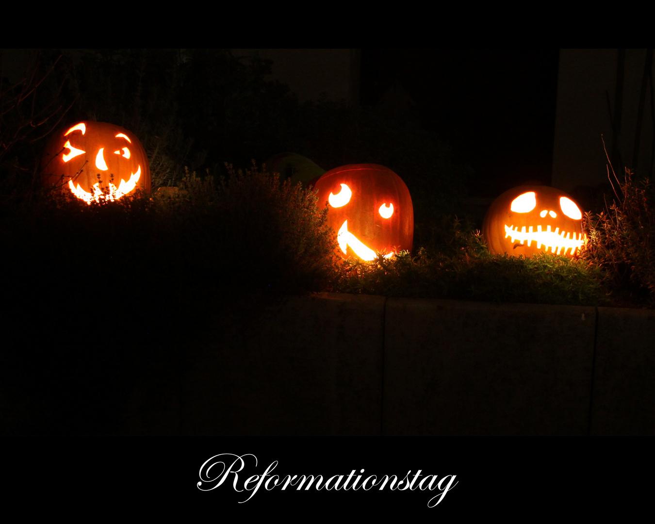 Halloween Reformationstag