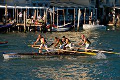 Regatta auf dem Canale Grande
