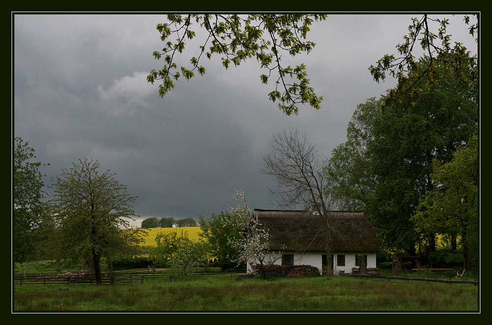 Regen auf Rügen