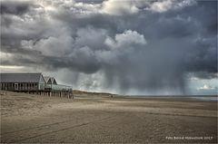 Regen auf Texel ....