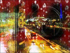 Regen im Berlin