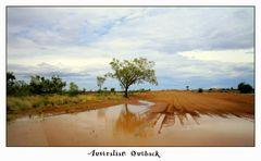 Regen im Outback