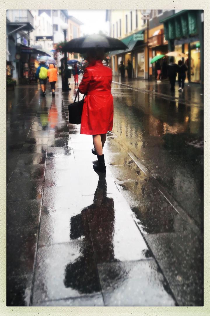 Regen in Ischl.