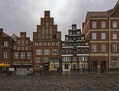 Regen in Lüneburg