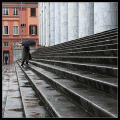 Regen in Palermo
