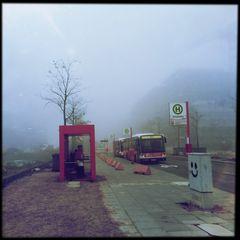 Regen Kälte Nebel...
