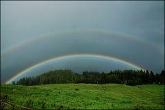 Regen + Sonne = Regenbogen