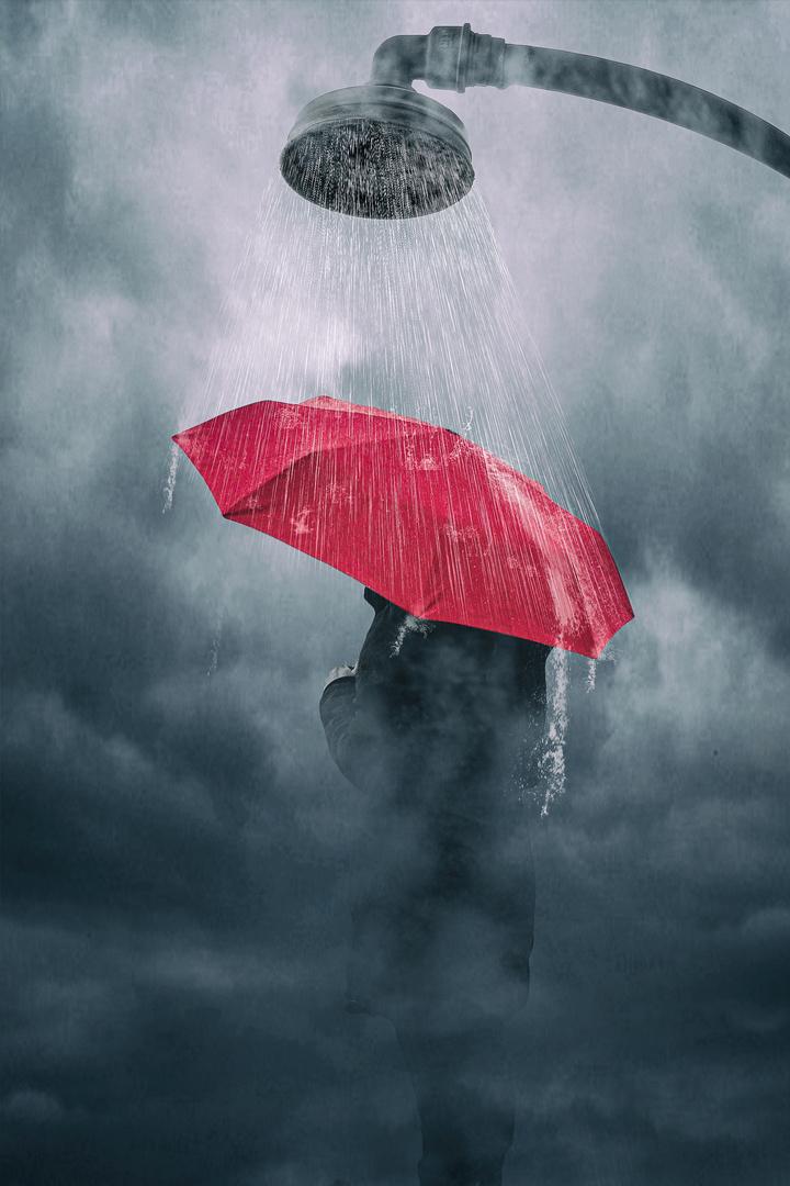 Regen Surreal