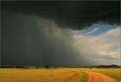 regen zieht auf...