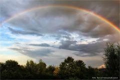 Regenbogen am linken Niederrhein ..... 24.07.2014 lange nicht gesehen ...