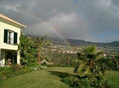 Regenbogen auf Madeira
