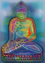 Regenbogen-Buddha (2009)