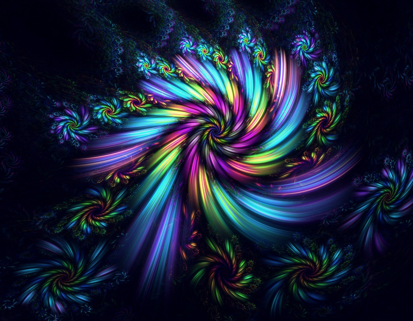 Regenbogen-Fantasie