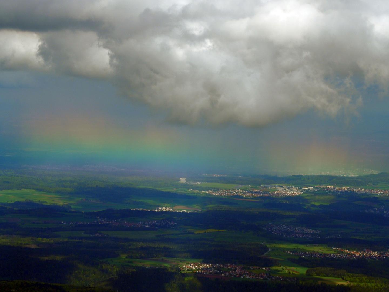 Regenbogen Farben Ohne Bogen Foto Bild Kritik Am Bild Wolken