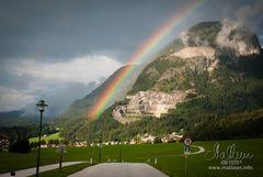 Regenbogen - Farbenspiel über Bad Häring
