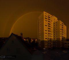 Regenbogen, fast doppelt