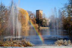 Regenbogen im Frankfurter Zoo ....