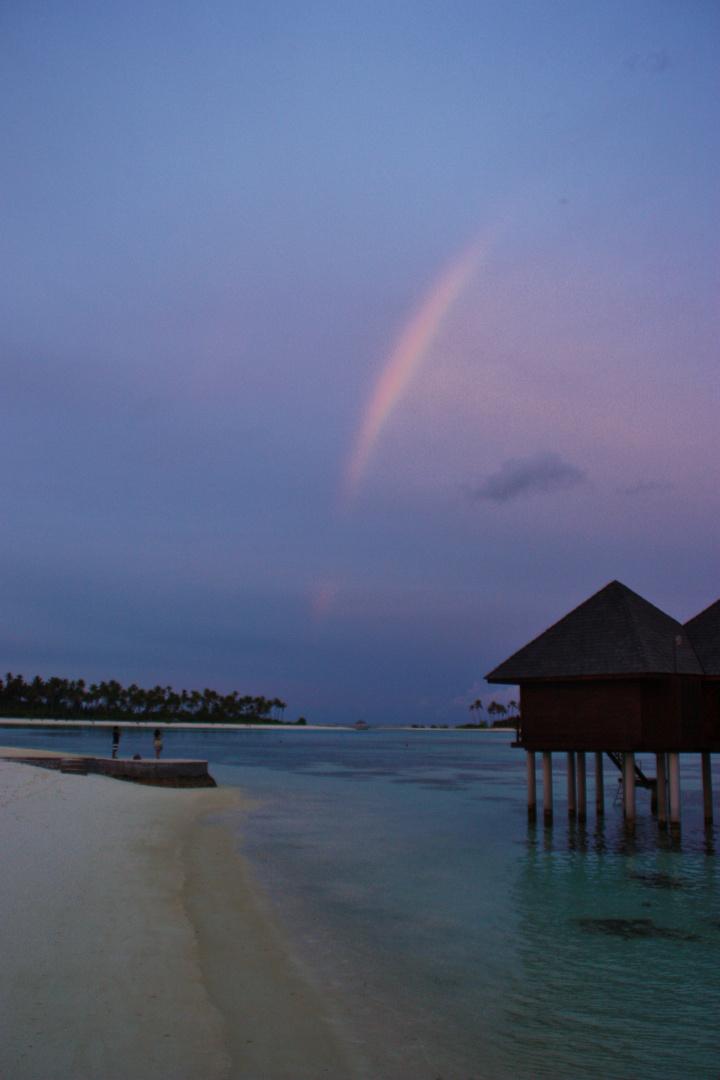Regenbogen im Paradies