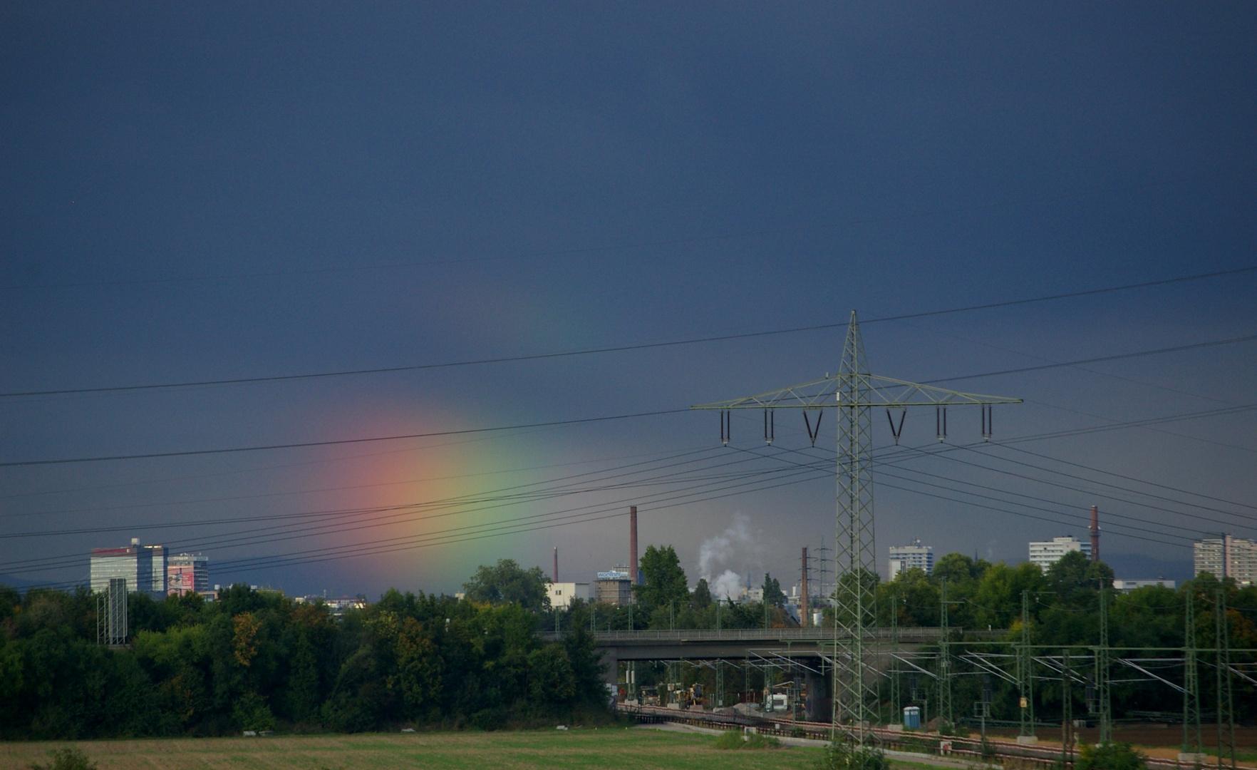 Regenbogen im Stromnetz