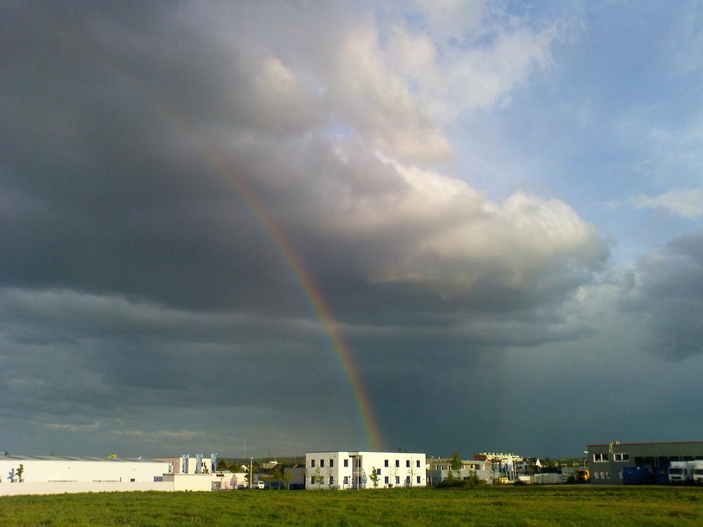 Regenbogen in Bonn