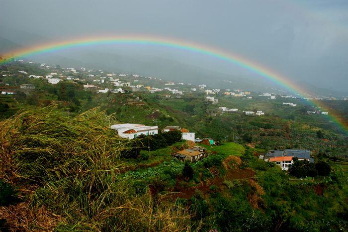 Regenbogen irgendwo auf La Palma