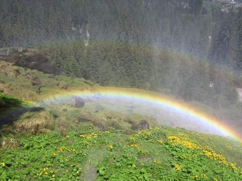 Regenbogen - Krimmler Wasserfall