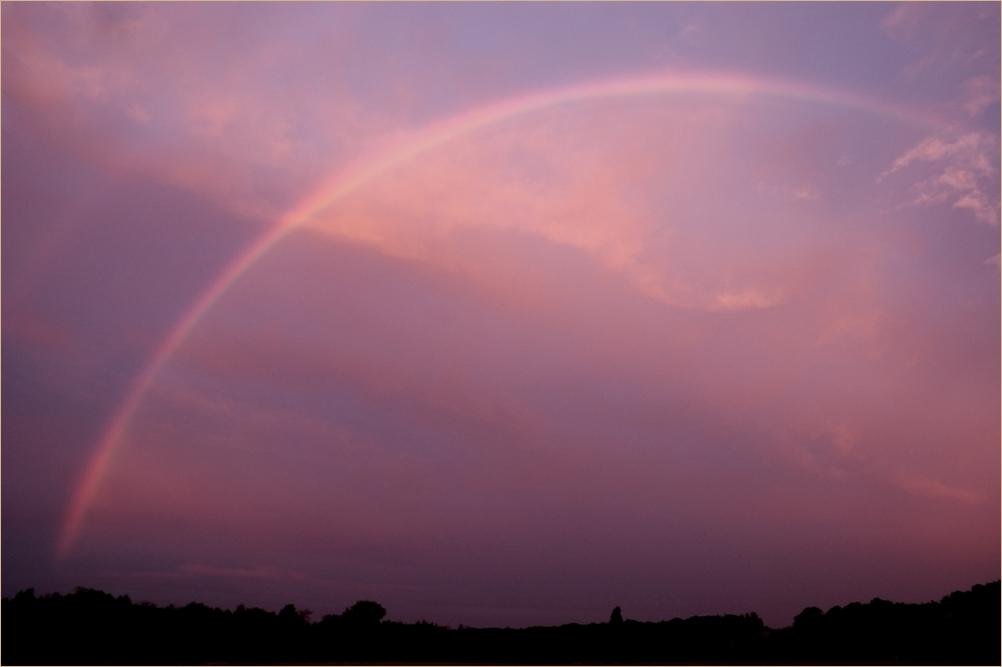 Regenbogen ohne Sonne