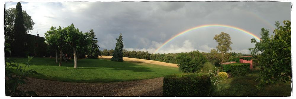 Regenbogen Panorama