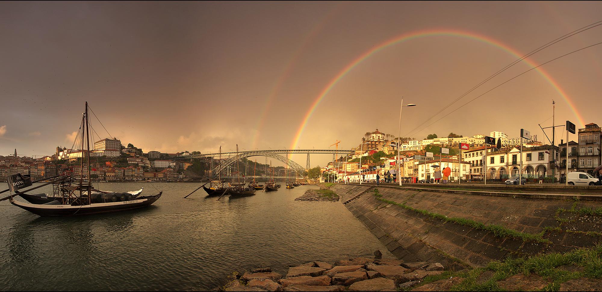 Regenbogen-Panorama
