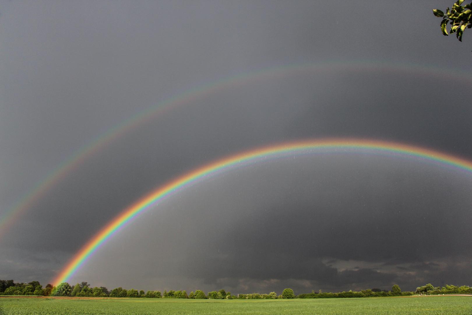 Regenbogen-Stapel