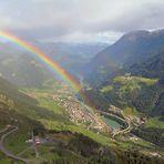 Regenbogen über Airolo