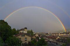 Regenbogen über Bern