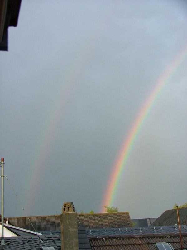 Regenbogen über Herold