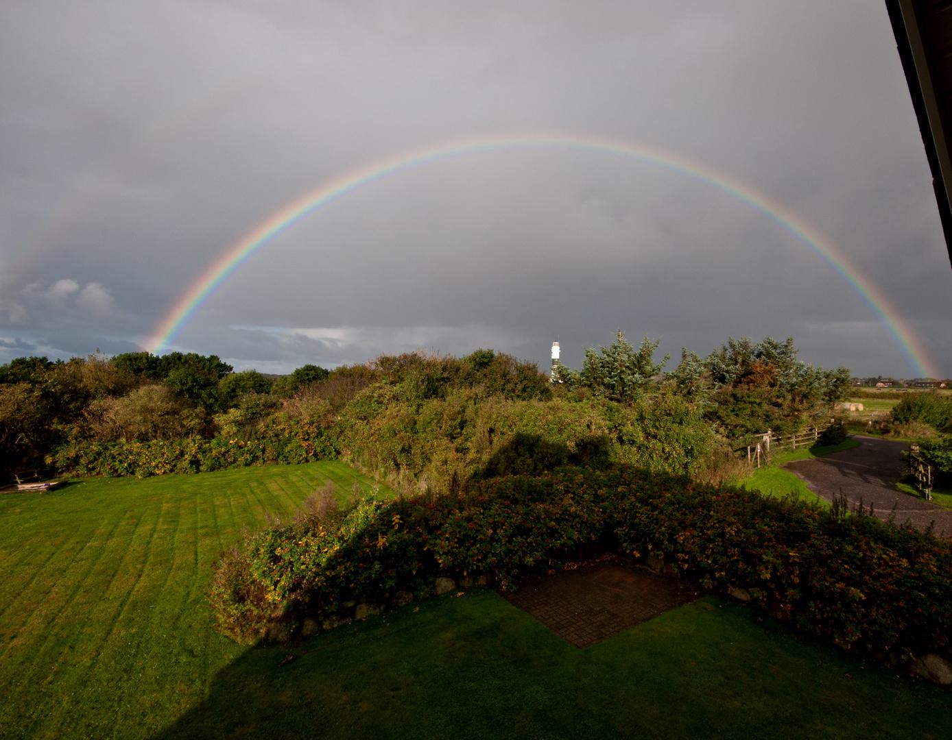 Regenbogen über Kampen