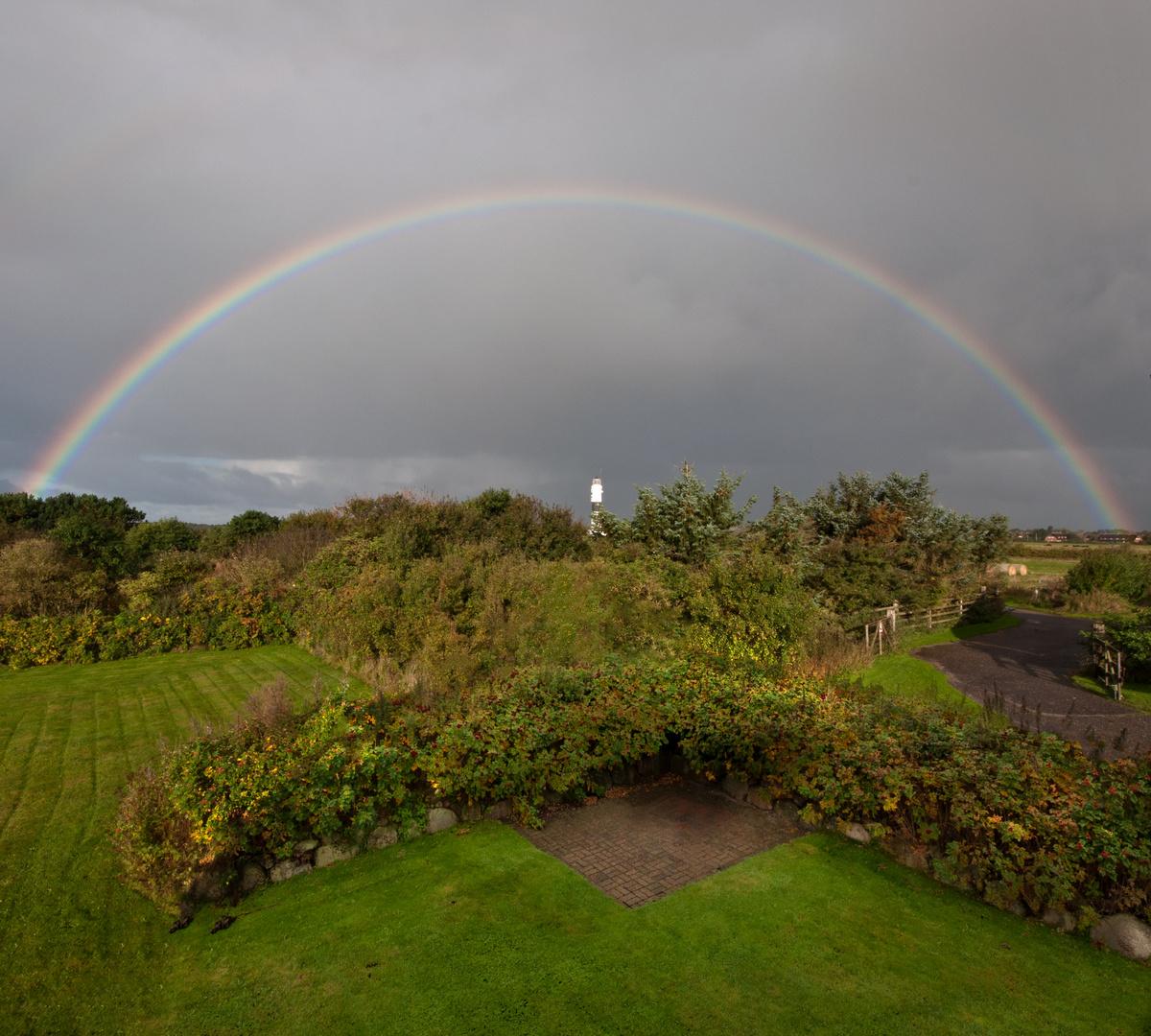 Regenbogen über Kampen II