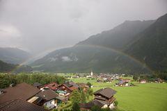Regenbogen über Krimml