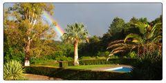 Regenbogen über Mas Armengol