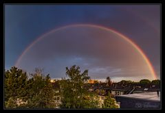 Regenbogen über Mauenheim