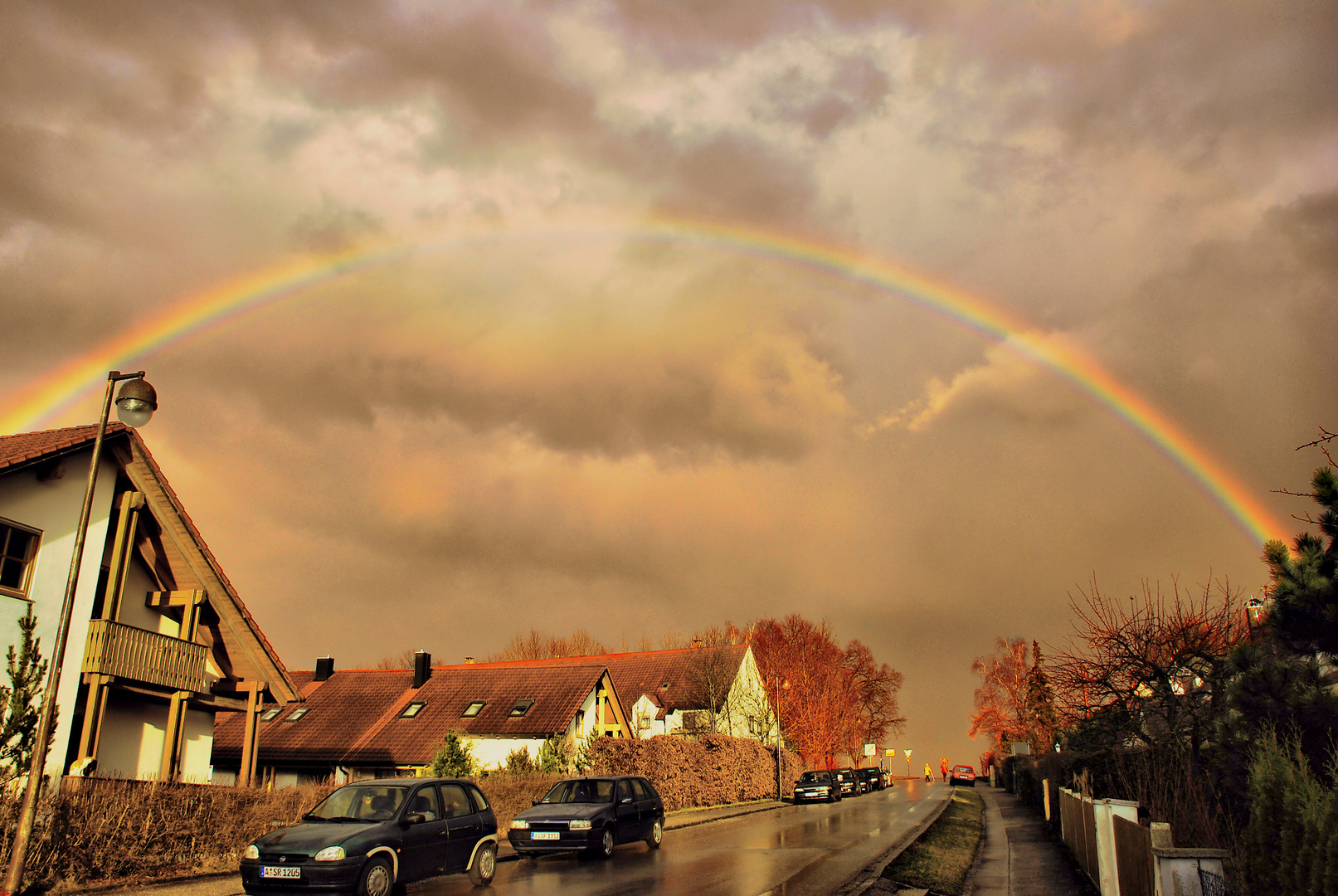 Regenbogen über Neusäß