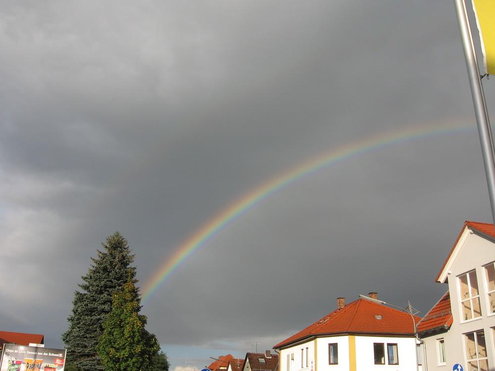 Regenbogen über Rimbach / Odw