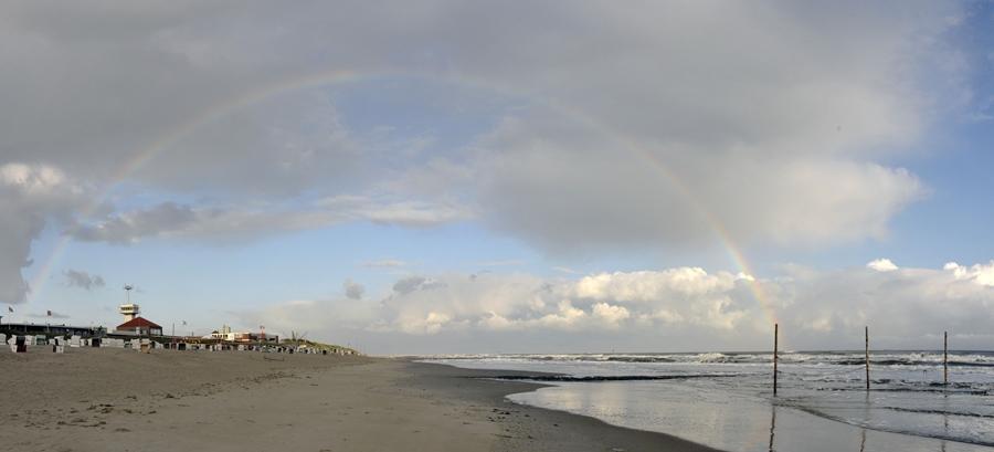 Regenbogen über Wangerooge