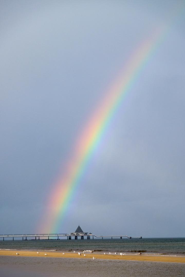 Regenbogen vor Usedom