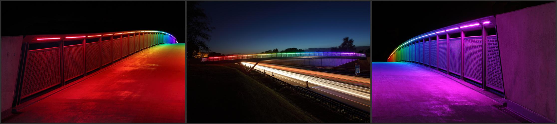 Regenbogenbrücke I – Triptychon