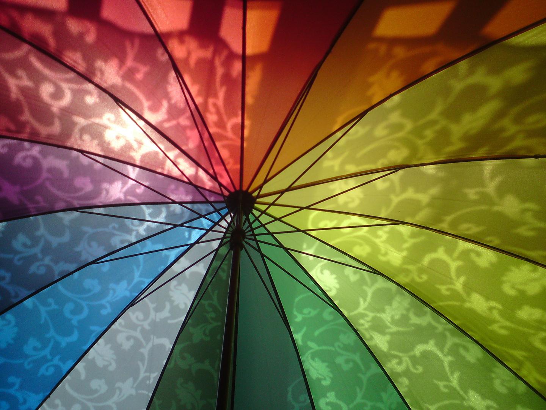 Regen(bogen)schirm